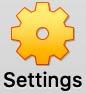 VirtualBox Settings Button