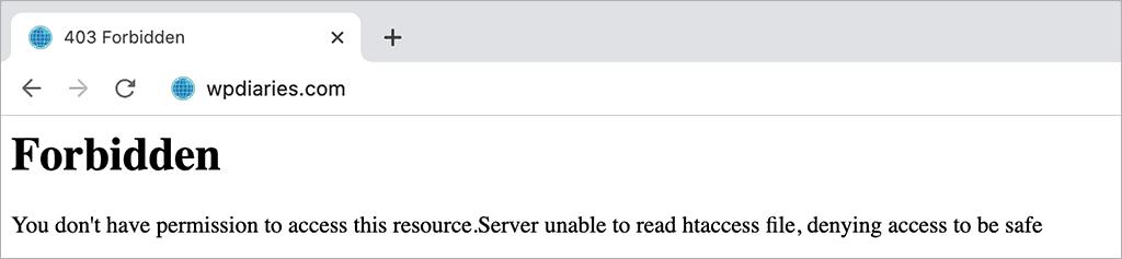 Apache Permissions Problem (403 Forbidden)
